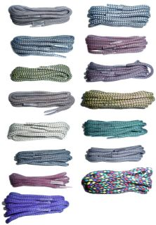 100cm BRITISH QUALITY Walking Cord Shoe Laces, Boot Laces Choice of colours